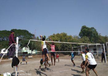 क्रीडा विभाग – C.M.चषक Volley ball स्पर्धेचे आयोजन